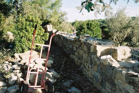 2009 - mur nord est